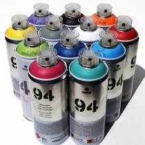 MTN 94 - 12 x 400ml Cans - Popular Colour Set