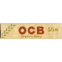 OCB KINGSIZE ORGANIC HEMP UNBLEACHED SLIMS