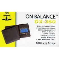 ON BALANCE - DX350 - DIGITAL SCALES