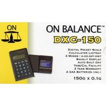 ON BALANCE DXC-150