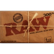 RAW 300's 1.25 SIZE PAPERS