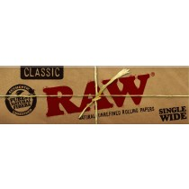 RAW SINGLE WIDTH PAPERS