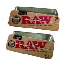 RAW METAL TIN CADDY - 1.25 SIZE