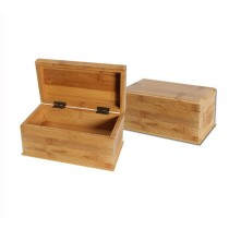 BAMBOO STASH STORAGE BOX
