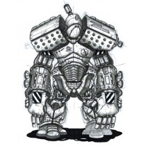 ROBOT SKETCH PRINT - A2 (mm x mm)