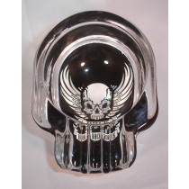SKULL ASHTRAY - ROCK WINGS