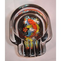 SKULL ASHTRAY - TATTOO FISH