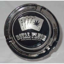 Small Round ASHTRAY - royal flush