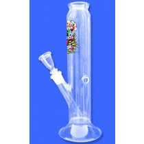 TATTOO LOGO GLASS BONG -01167- 32 X 55 mm