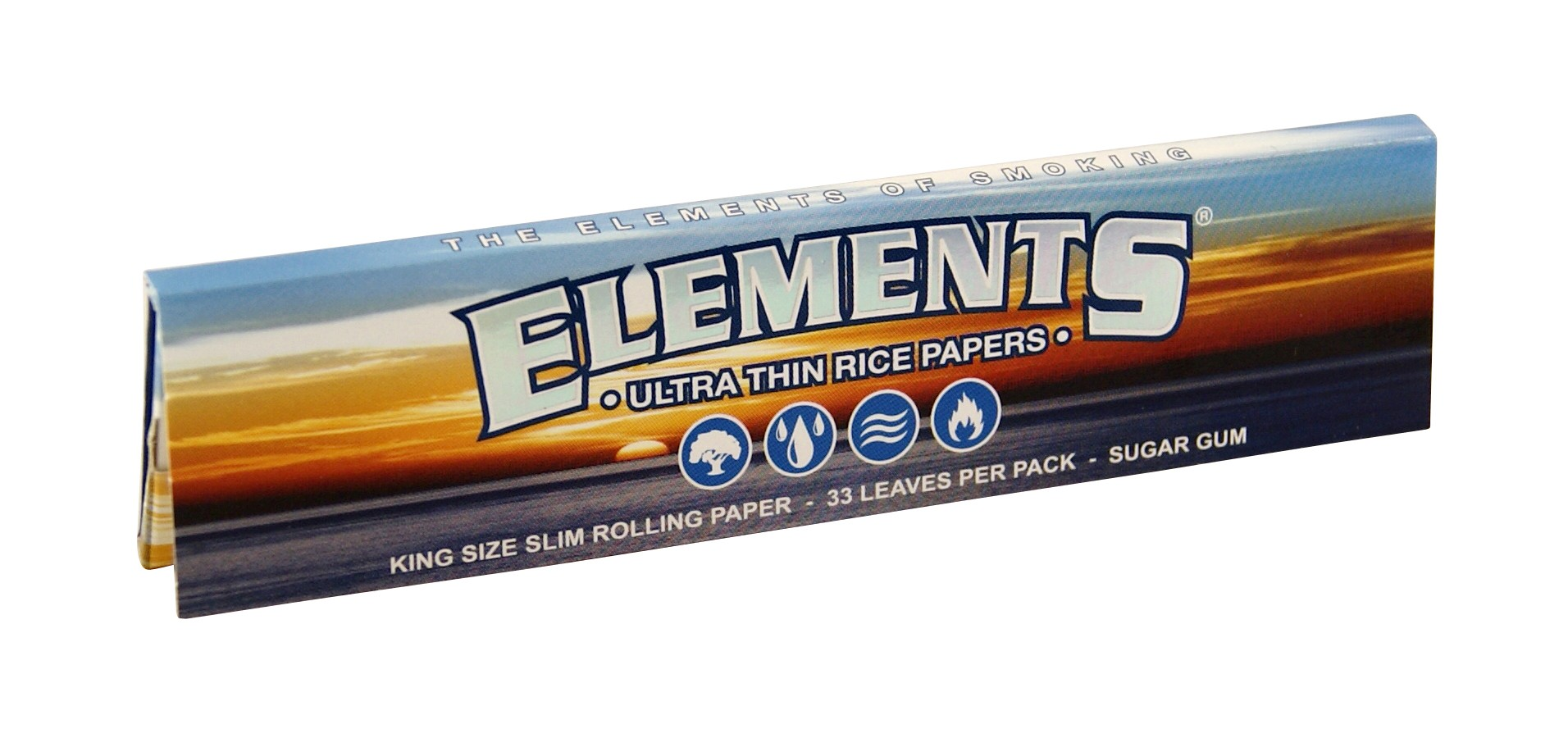 ELEMENTS KINGSIZE SLIM PAPERS