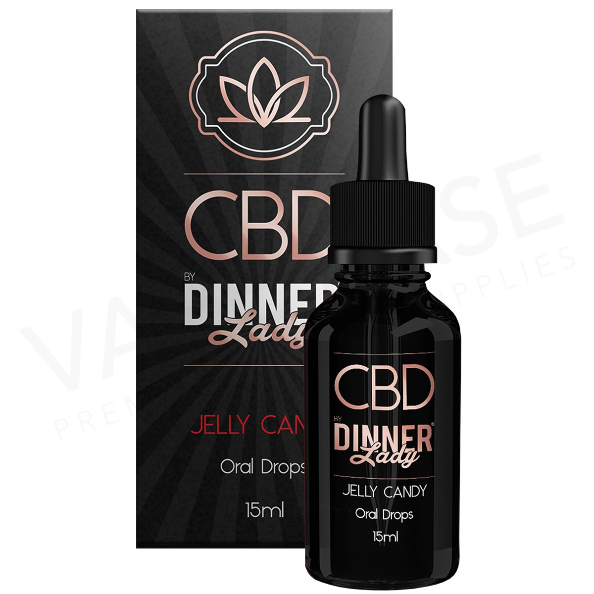 DINNER LADY - CBD DROPS JELLY CANDY (1000mg)