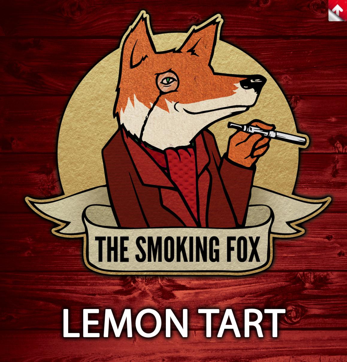 SMOKING FOX 10ml - LEMON TART
