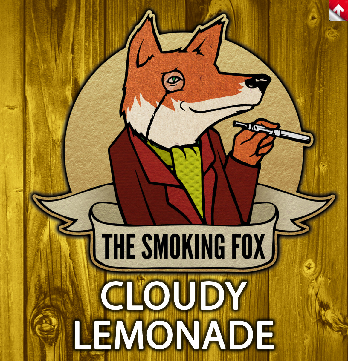 SMOKING FOX 10ml - CLOUDY LEMONADE