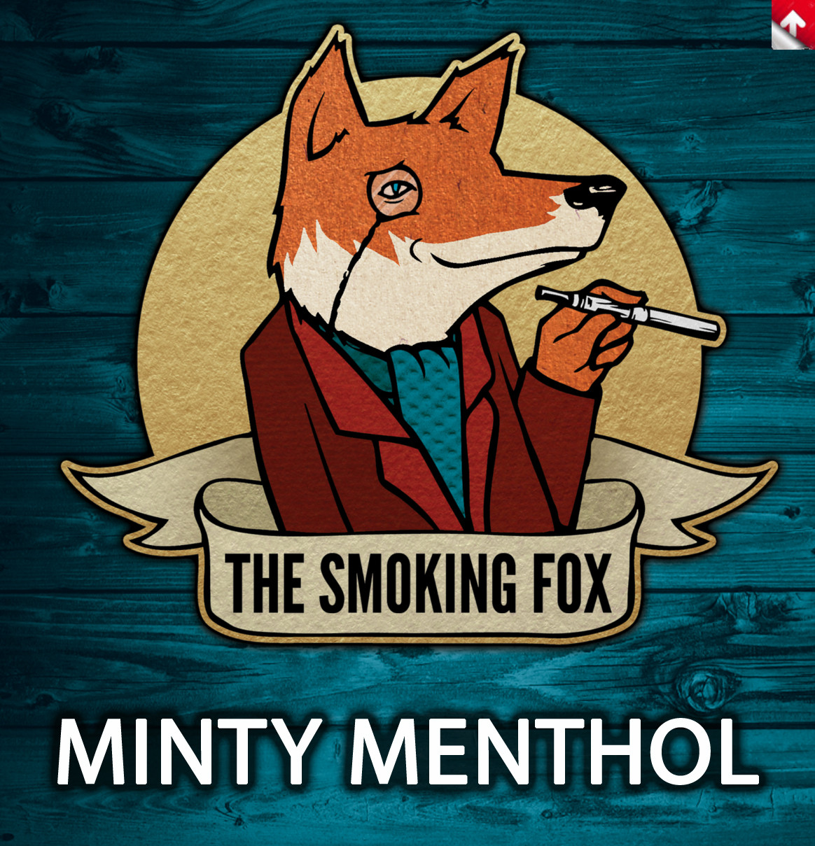 SMOKING FOX 10ml - MINTY MENTHOL