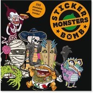 STICKER BOMB MONSTERS: Sticker Book MONSTERS