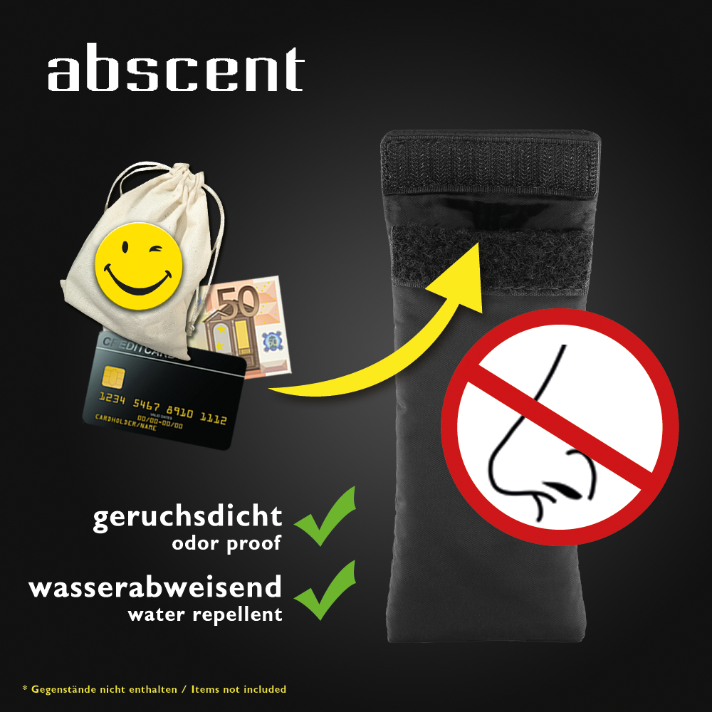 CLEANU vs ABSCENT - SLIM SMELL PROOF CARRY STASH