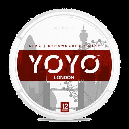 YOYO London Nicotine Chew Bags - Strawberry/Mint (12mg)