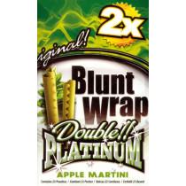 BLUNT WRAP DOUBLE PLATINUM - APPLE MARTINI (GREEN)