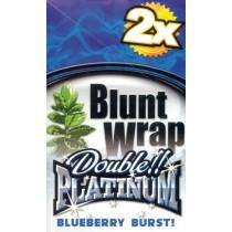BLUNT WRAP DOUBLE PLATINUM - BLUEBERRY BURST