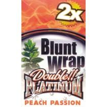 BLUNT WRAP DOUBLE PLATINUM - PEACH PASSION