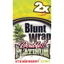 BLUNT WRAP DOUBLE PLATINUM - STRAWBERRY KIWI (RED)