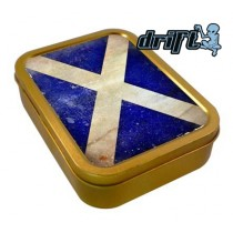 TOBACCO TIN 2oz - SCOTLAND FLAG