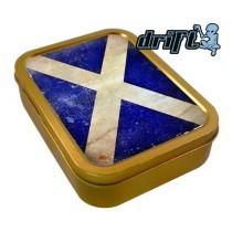 TOBACCO TIN 2oz - SCOTLAND FLAG