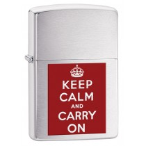 ZIPPO - KEEP CALM AND CARRY ON (200KCC)