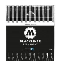 MOLOTOW - BLACKLINER Full 10 Marker Set