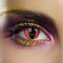 EYE ACCESSORIES - RED CAT EYE Life Span: 90 Days