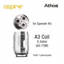 Aspire Athos Coils: A-3 Triple Coil
