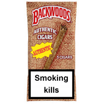 BACKWOODS - AUTHENTIC (MELLOW) 5 PACK