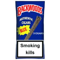 BACKWOODS - BLUE (VANILLA) 5 PACK