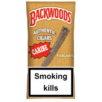 BACKWOODS - CARIBE (CARIBBEAN RUM) 5 PACK