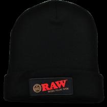 RAW - BEANIE CAP (BLACK)