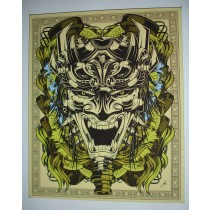 TRIBAL FACE - LIMITED EDITION CANVAS