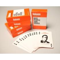 NICE PEOPLE TAKE DRUGS - PLAYING CARDS