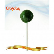 CIBIDAY - 4mg CBD LOLLY (STRAWBERRY)