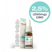CIBDOL - CBD OIL 2.5% - 10ml (250mg)