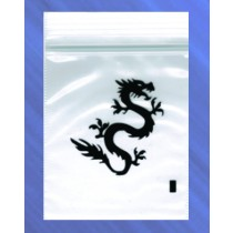 5cm x 5.5cm GRIP BAGS - DRAGON