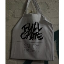 FULL CRATE TOTE BAG - WHITE