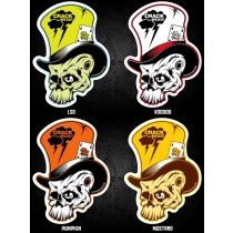 FAT PUNK STUDIO STICKER SET - MAD HATTER
