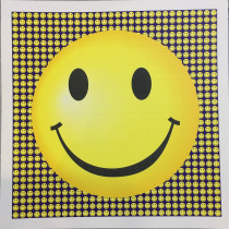 SMILEY FACES - BLOTTER ART