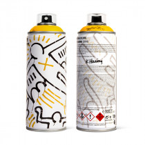 MTN LIMITED EDITION - KEITH HARING (MEDIUM YELLOW)