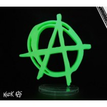 "Kozik x Jamungo Anarchy is 8"" Glow in the Dark Bloody"