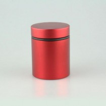 HEAD CASE POT - LARGE (RED)