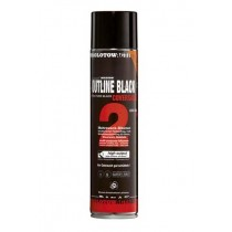 MOLOTOW COVERSALL 2 OUTLINE BLACK MATT - 600ml