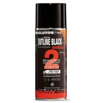 MOLOTOW COVERSALL 2 OUTLINE BLACK 400ml