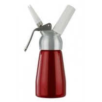 MOSA 1/4L CREAM WHIPPER with METAL TOP - SILVER (SMALL)