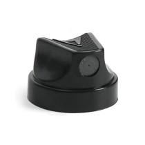 SMALL BLACK w BLACK DOT (SKINNY CAP)